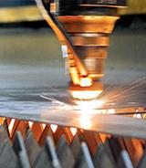 金属激光切割机镀锌板切割的应用