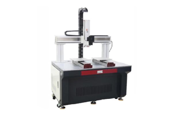 单工位双头光纤激光焊接机