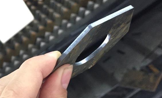 碳钢切割样品